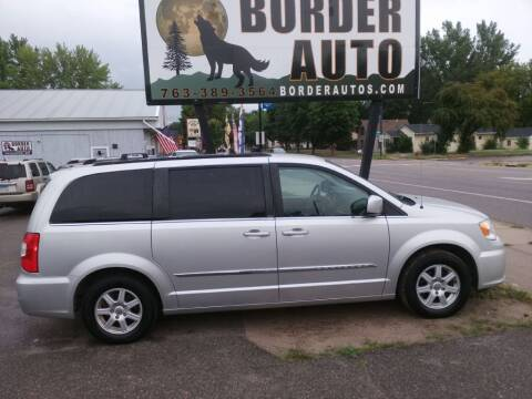 2012 Chrysler Town and Country for sale at Border Auto of Princeton in Princeton MN