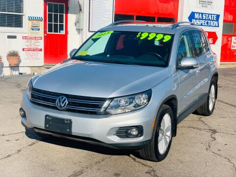 2013 Volkswagen Tiguan for sale at Milford Automall Sales and Service in Bellingham MA