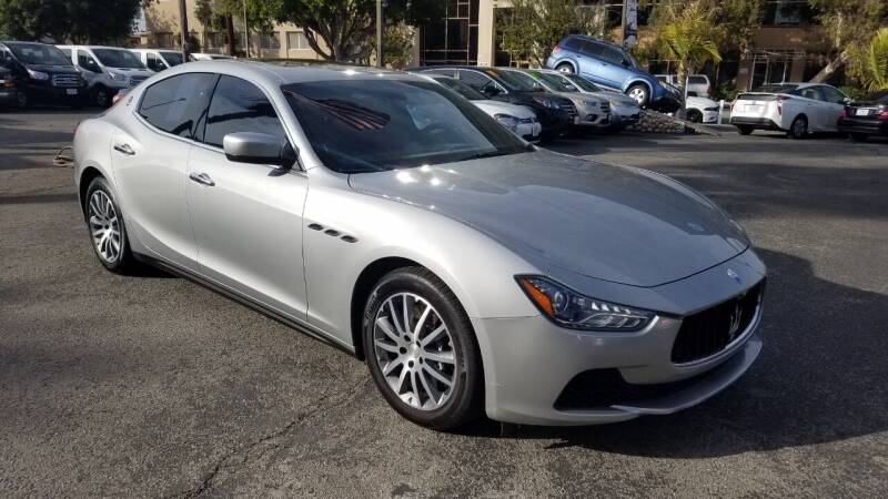 2014 Maserati Ghibli for sale at In-House Auto Finance in Hawthorne CA