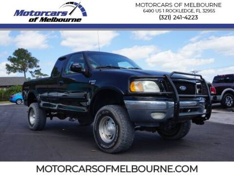 1999 Ford F-150 for sale at Motorcars of Melbourne in Rockledge FL