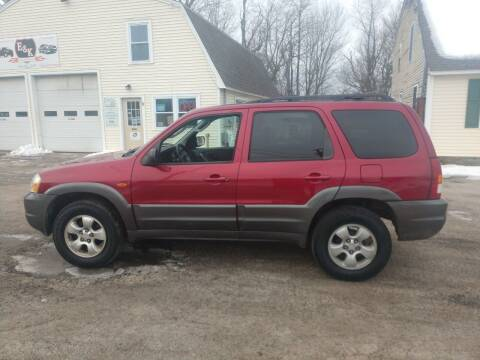 2004 Mazda Tribute for sale at E & K Automotive in Derry NH