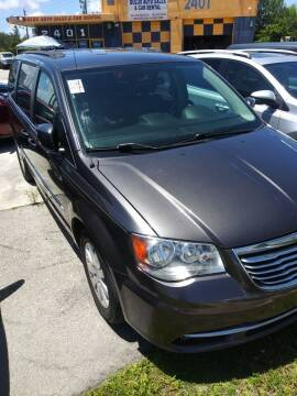 2015 Chrysler Town and Country for sale at Dulux Auto Sales Inc & Car Rental in Hollywood FL
