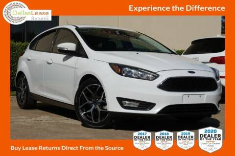 2017 Ford Focus for sale at Dallas Auto Finance in Dallas TX