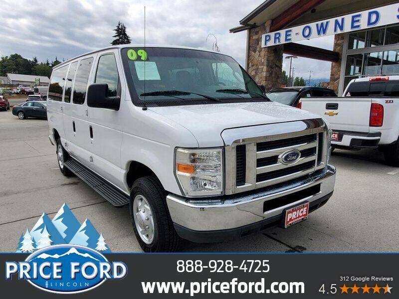 2009 Ford E-Series Wagon for sale at Price Ford Lincoln in Port Angeles WA