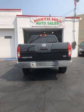 2010 Nissan Frontier for sale at North Hill Auto Sales in Akron OH