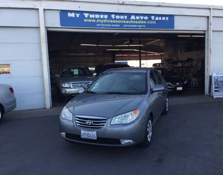 2010 Hyundai Elantra for sale at My Three Sons Auto Sales in Sacramento CA