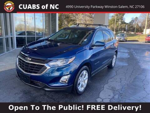 2020 Chevrolet Equinox for sale at Credit Union Auto Buying Service in Winston Salem NC