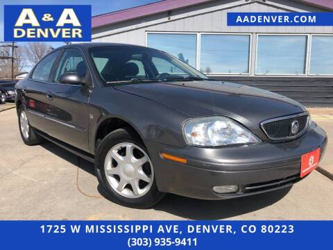 2003 Mercury Sable for sale at A & A AUTO LLC in Denver CO