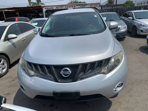 2009 Nissan Murano for sale at GRAND AUTO SALES - CALL or TEXT us at 619-503-3657 in Spring Valley CA