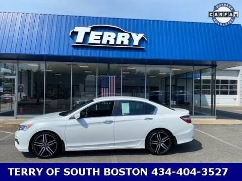 2017 Honda Accord for sale at Terry of South Boston in South Boston VA