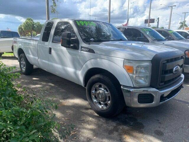 2011 Ford F-250 Super Duty for sale at DAN'S DEALS ON WHEELS AUTO SALES, INC. in Davie FL