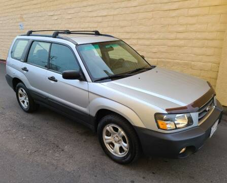 2004 Subaru Forester for sale at Cars To Go in Sacramento CA