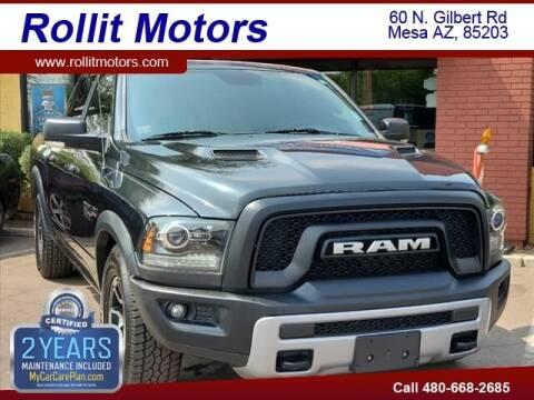 2017 RAM Ram Pickup 1500 for sale at Rollit Motors in Mesa AZ