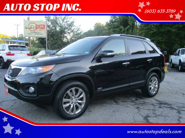 2011 Kia Sorento for sale at AUTO STOP INC. in Pelham NH