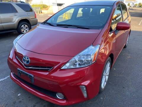 2012 Toyota Prius v for sale at Cars4U in Escondido CA