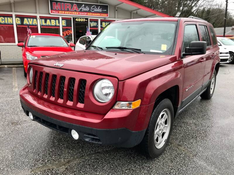 2016 Jeep Patriot for sale at Mira Auto Sales in Raleigh NC