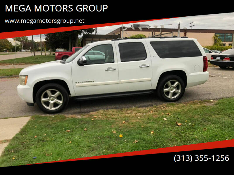2008 Chevrolet Suburban for sale at MEGA MOTORS GROUP in Redford MI