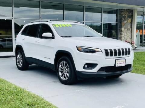 2019 Jeep Cherokee for sale at RUSTY WALLACE CADILLAC GMC KIA in Morristown TN