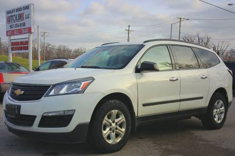 2013 Chevrolet Traverse for sale at AutoLink LLC in Dayton OH