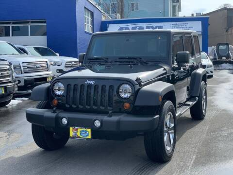 2013 Jeep Wrangler Unlimited for sale at AGM AUTO SALES in Malden MA