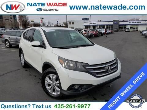 2012 Honda CR-V for sale at NATE WADE SUBARU in Salt Lake City UT