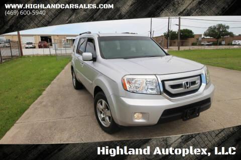 2009 Honda Pilot for sale at Highland Autoplex, LLC in Dallas TX