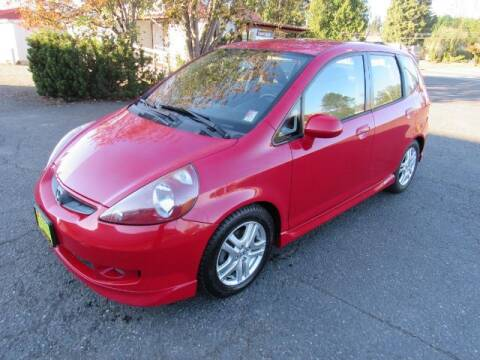 2007 Honda Fit for sale at Triple C Auto Brokers in Washougal WA