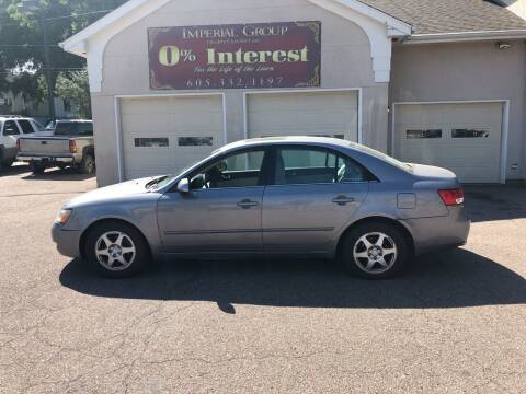 2007 Hyundai Sonata for sale at Imperial Group in Sioux Falls SD