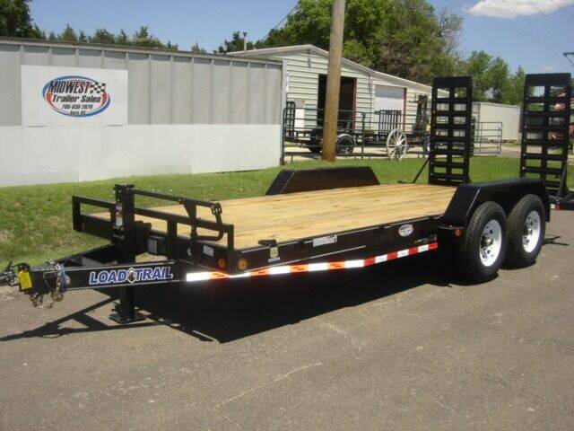 2021 83 X 18  LOAD TRAIL HD HAULER for sale at Midwest Trailer Sales & Service in Agra KS