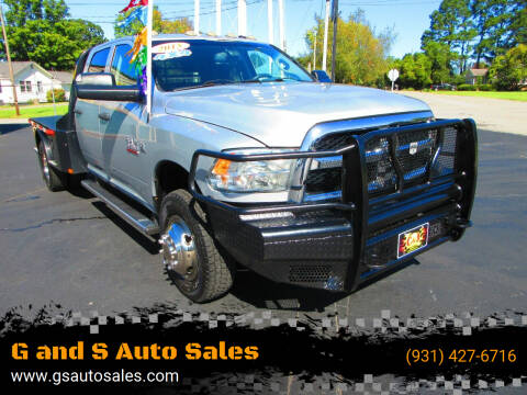 2015 RAM Ram Pickup 3500 for sale at G and S Auto Sales in Ardmore TN