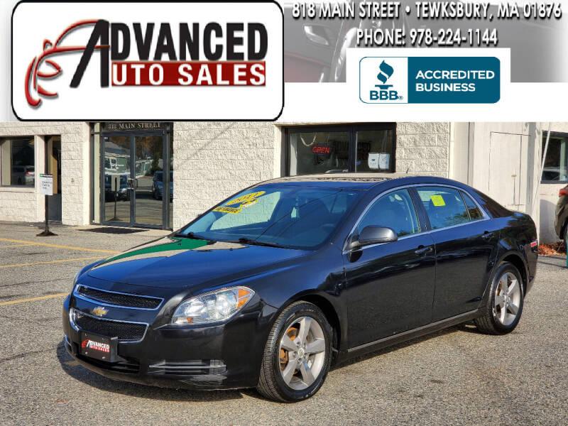 2011 Chevrolet Malibu for sale at Advanced Auto Sales in Tewksbury MA