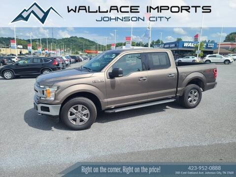 2018 Ford F-150 for sale at WALLACE IMPORTS OF JOHNSON CITY in Johnson City TN
