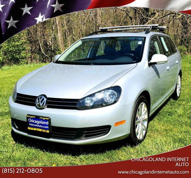 2011 Volkswagen Jetta for sale at Chicagoland Internet Auto - 410 N Vine St New Lenox IL, 60451 in New Lenox IL