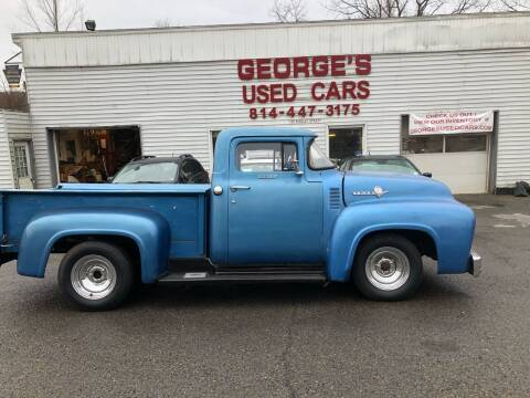 1956 Ford F-100 for sale at George's Used Cars Inc in Orbisonia PA