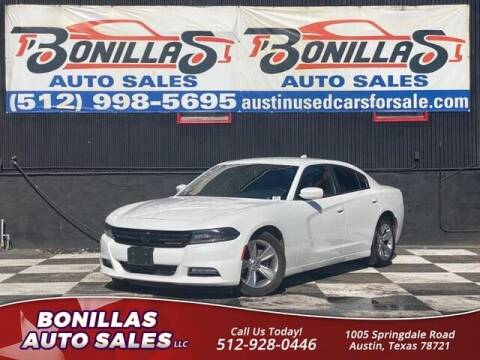 2016 Dodge Charger for sale at Bonillas Auto Sales in Austin TX