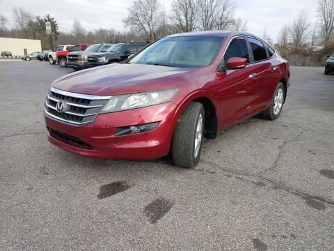 2010 Honda Accord Crosstour for sale at Cruisin' Auto Sales in Madison IN