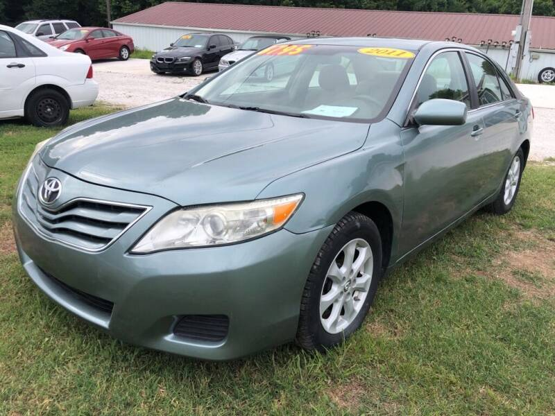2011 Toyota Camry for sale at R.E.D. Auto Sales LLC in Joplin MO