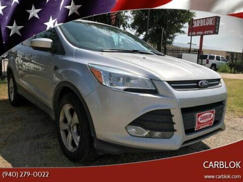 2013 Ford Escape for sale at CARBLOK in Lewisville TX
