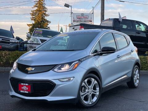2018 Chevrolet Bolt EV for sale at Real Deal Cars in Everett WA