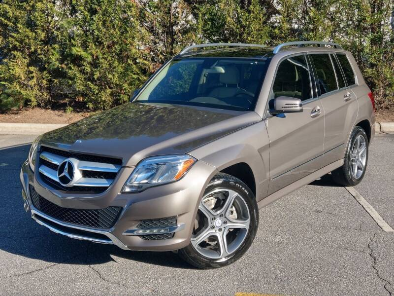 2014 Mercedes-Benz GLK for sale at Mich's Foreign Cars in Hickory NC