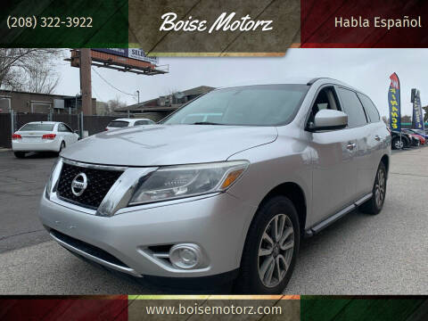 2014 Nissan Pathfinder for sale at Boise Motorz in Boise ID