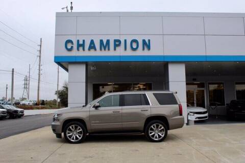 2017 Chevrolet Tahoe for sale at Champion Chevrolet in Athens AL