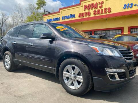 2013 Chevrolet Traverse for sale at Popas Auto Sales in Detroit MI