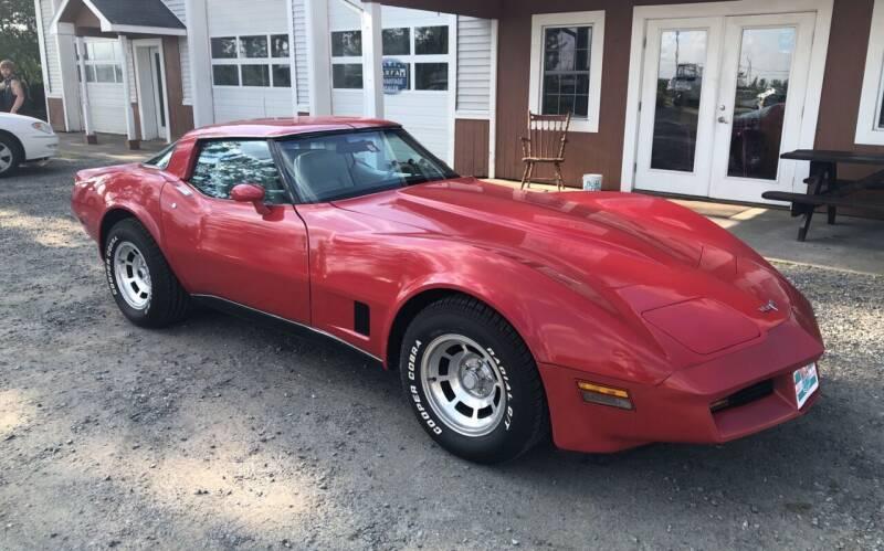 1980 Chevrolet Corvette for sale at M&A Auto in Newport VT