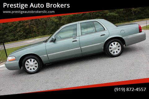 2005 Mercury Grand Marquis for sale at Prestige Auto Brokers in Raleigh NC
