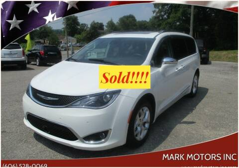 2020 Chrysler Pacifica for sale at Mark Motors Inc in Gray KY