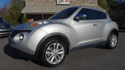 2013 Nissan JUKE for sale at Driven Pre-Owned in Lenoir NC
