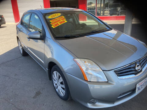 2012 Nissan Sentra for sale at Honest Auto Sales in Tracy CA