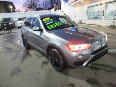2017 BMW X3 for sale at Auto Land Inc in Crest Hill IL