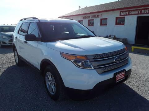 2013 Ford Explorer for sale at Sarpy County Motors in Springfield NE